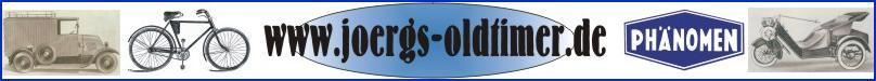 Joergs Oldtimerseiten für Restaurierung von Oldtimerfahrrädern und Leichtmotorrädern, sowie der Geschichte der Phänomen-Werke in Zittau/Sa.in der Oberlausitz